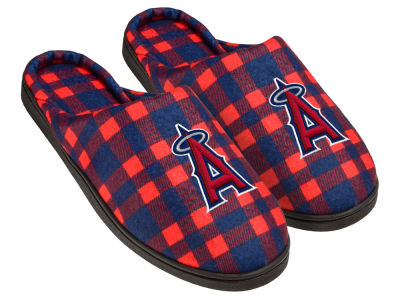 Los Angeles Angels Flannel Cup Sole Slippers Boxed
