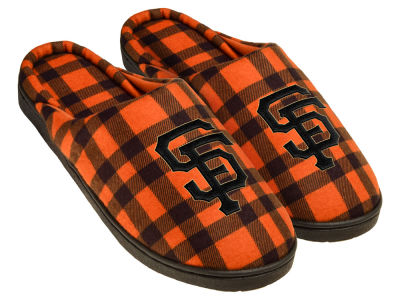 San Francisco Giants Flannel Cup Sole Slippers Boxed