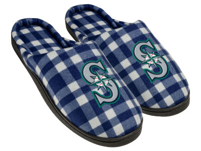 Seattle Mariners Flannel Cup Sole Slippers Boxed