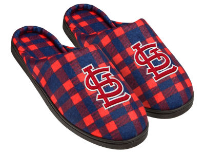 St. Louis Cardinals Flannel Cup Sole Slippers Boxed