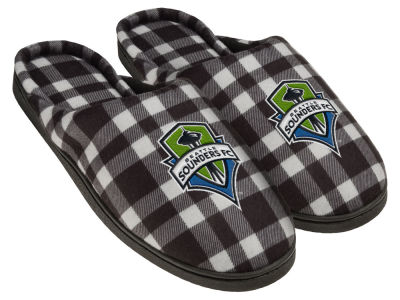 Seattle Sounders FC Flannel Cup Sole Slippers Boxed