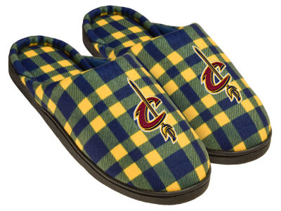 Cleveland Cavaliers Flannel Cup Sole Slippers Boxed