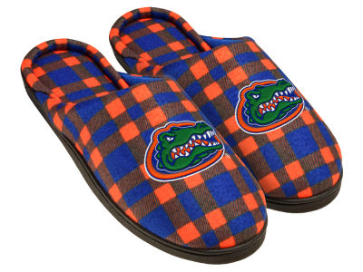 Florida Gators Flannel Cup Sole Slippers Boxed