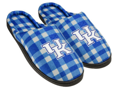 Kentucky Wildcats Flannel Cup Sole Slippers Boxed