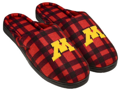 Minnesota Golden Gophers Flannel Cup Sole Slippers Boxed