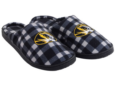 Missouri Tigers Flannel Cup Sole Slippers Boxed