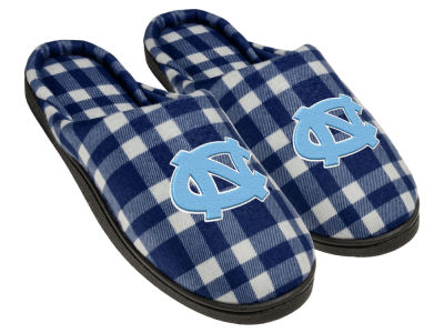 North Carolina Tar Heels Flannel Cup Sole Slippers Boxed