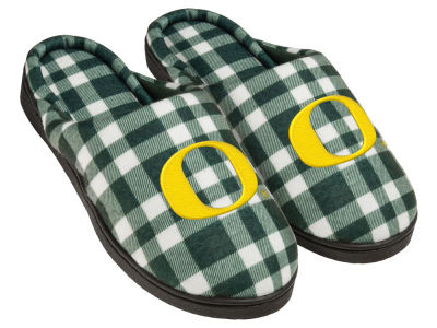 Oregon Ducks Flannel Cup Sole Slippers Boxed