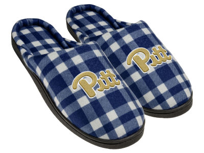 Pittsburgh Panthers Flannel Cup Sole Slippers Boxed