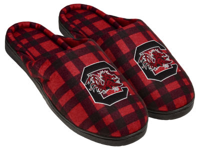 South Carolina Gamecocks Flannel Cup Sole Slippers Boxed