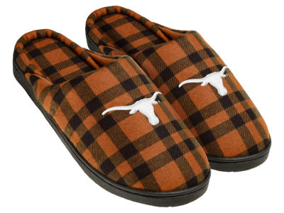 Texas Longhorns Flannel Cup Sole Slippers Boxed