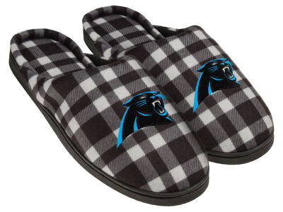 Carolina Panthers Flannel Cup Sole Slippers Boxed