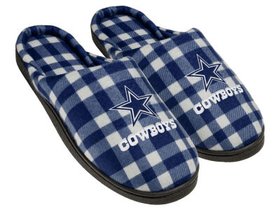 Dallas Cowboys Flannel Cup Sole Slippers Boxed