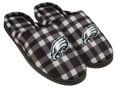 Philadelphia Eagles Flannel Cup Sole Slippers Boxed