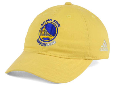 Golden State Warriors adidas NBA Relaxed Club Adjustable Cap