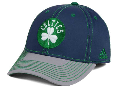 Boston Celtics adidas NBA Volcano Ash Flex Cap