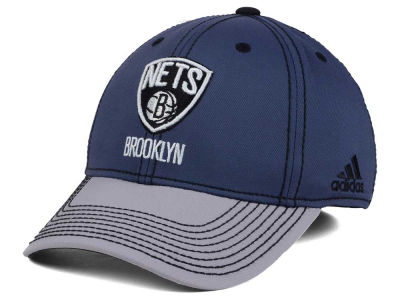 Brooklyn Nets adidas NBA Volcano Ash Flex Cap