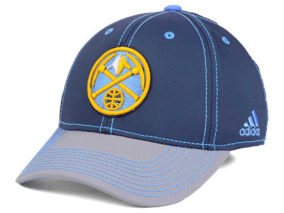 Denver Nuggets adidas NBA Volcano Ash Flex Cap