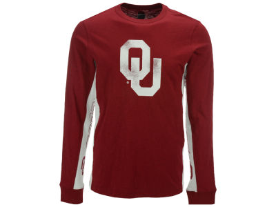 Oklahoma Sooners GIII NCAA Men's Hail Mary Long Sleeve T-Shirt