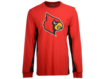 Louisville Cardinals GIII NCAA Men's Hail Mary Long Sleeve T-Shirt