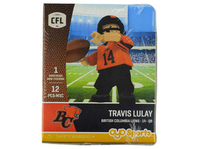 BC Lions Travis Lulay OYO Minifigure Gen 2