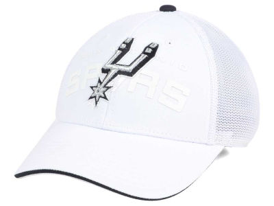 San Antonio Spurs adidas NBA White Mist Flex Cap