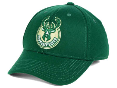 Milwaukee Bucks adidas NBA Structured Basic Flex Cap