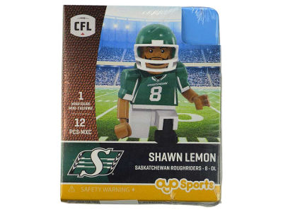 Saskatchewan Roughriders Shawn Lemon OYO Minifigure Gen 2