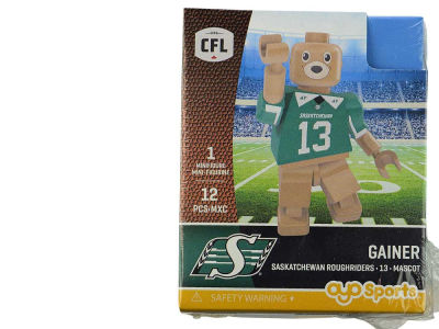 Saskatchewan Roughriders Gainer the Gopher OYO Minifigure Gen 2