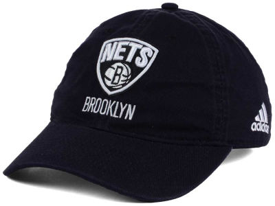 Brooklyn Nets adidas NBA Slouch Adjustable Cap