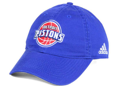 Detroit Pistons adidas NBA Slouch Adjustable Cap