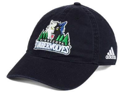 Minnesota Timberwolves adidas NBA Slouch Adjustable Cap
