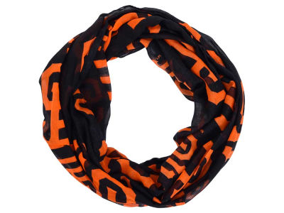 San Francisco Giants All Over Logo Infinity Wrap Scarf