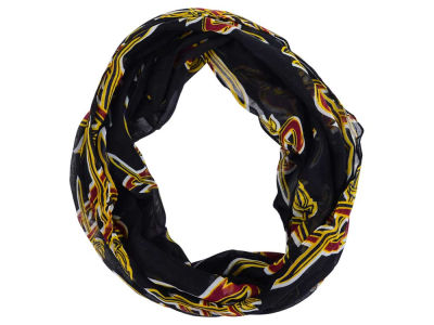 Cleveland Cavaliers All Over Logo Infinity Wrap Scarf