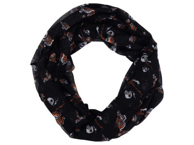 Cincinnati Bengals All Over Logo Infinity Wrap Scarf