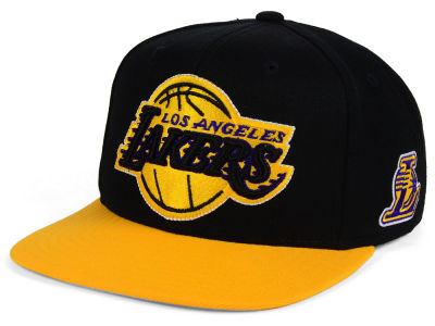 Los Angeles Lakers adidas NBA 2Tonez Snapback Cap