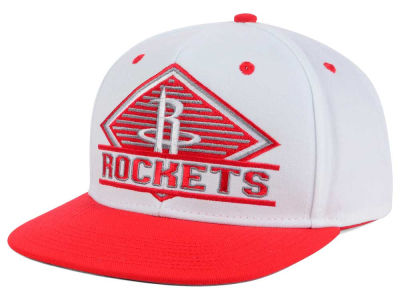 Houston Rockets adidas NBA White Diamond Snapback Cap