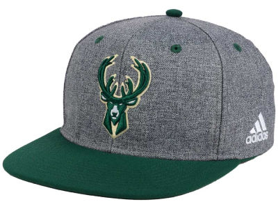 Milwaukee Bucks adidas NBA Fog Snapback Cap