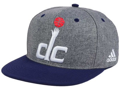 Washington Wizards adidas NBA Fog Snapback Cap