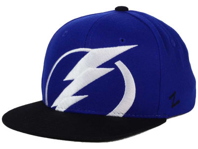 Tampa Bay Lightning Zephyr NHL Youth Peek Snapback Cap