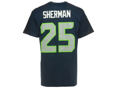 Seattle Seahawks Richard Sherman Majestic NFL Men's Eligible Receiver III T-Shirt