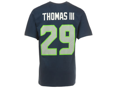 Seattle Seahawks Earl Thomas Majestic NFL Men's Eligible Receiver III T-Shirt