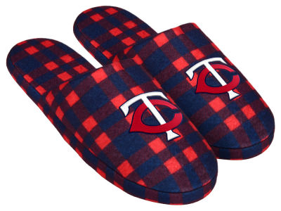 Minnesota Twins Flannel Slide Slipper
