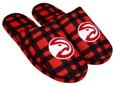 Atlanta Hawks Flannel Slide Slipper
