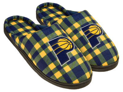 Indiana Pacers Flannel Slide Slipper