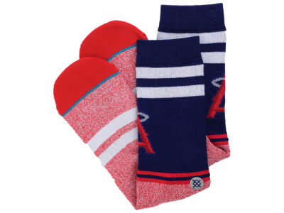 Los Angeles Angels MLB Diamond Collection Socks