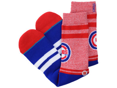 Chicago Cubs MLB Diamond Collection Socks