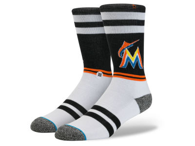 Miami Marlins MLB Diamond Collection Socks