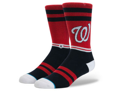 Washington Nationals MLB Diamond Collection Socks