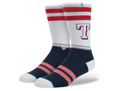 Texas Rangers MLB Diamond Collection Socks